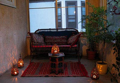 Moroccan Caravan Decorating Ideas