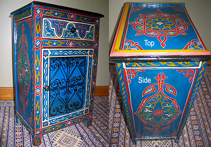 Moroccan Handmade Night Stand