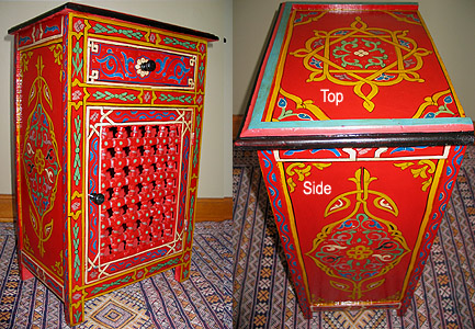 Moroccan Handmade Night Stand $51 OFF