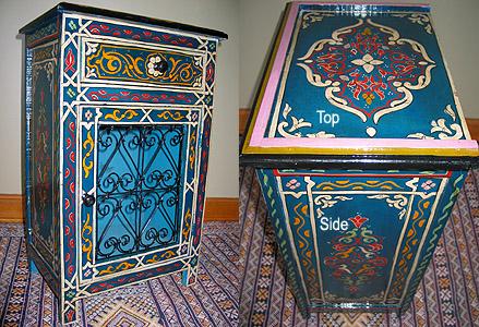 Moroccan Moroccan handmade night stand