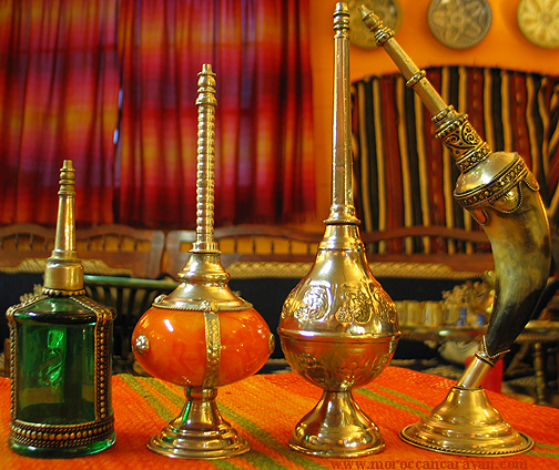 Moroccan Exotic set of perfume dispensers ID#1220
