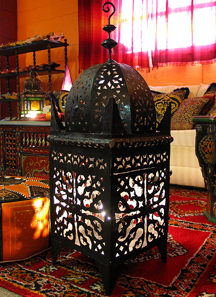 Romance Punched Metal Lamp Lamps Lamps From Morocco At Moroccan Caravan