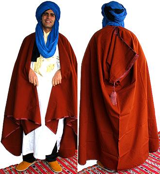 Moroccan Moroccan Burnoose/Cape + FREE S/H Sp