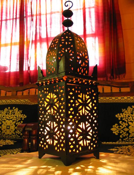 Lovely Non Wired Minaret Lantern $10 OFF