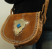 Leather purse ID #1245