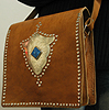 Leather purse ID #1251