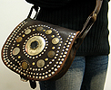 Leather purse ID #1258
