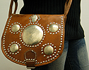 Leather purse ID #1259