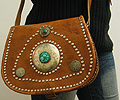 Leather purse ID #1260