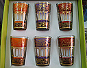 Moroccan Tea glasses Set #2
